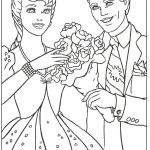 Barbie and Ken Coloring Pages Barbie and Ken Coloring Pages