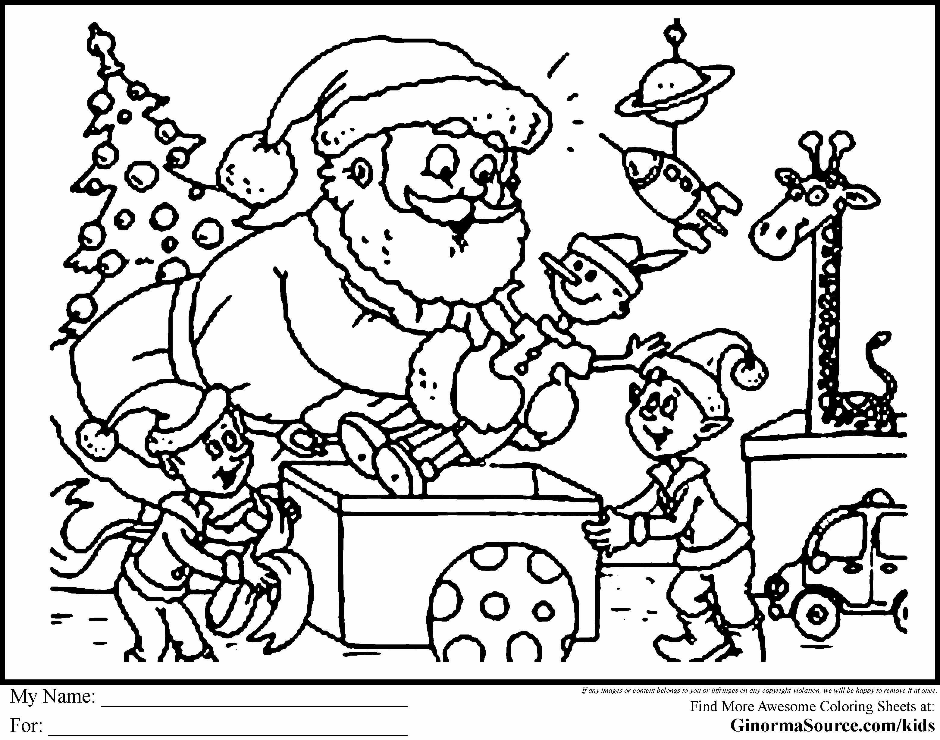 Barbie Christmas Coloring Pages to Print - BubaKids.com