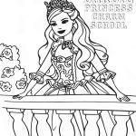 Barbie Coloring Pages Princess Charm School Barbie Coloring Pages Princess Charm School