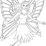 Barbie Fairy Coloring Pages Free Barbie Fairy Coloring Pages Free