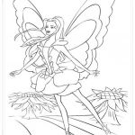 Barbie Fairytopia Coloring Pages Barbie Fairytopia Coloring Pages