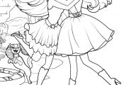 Barbie Princess and the Popstar Coloring Pages Printable Barbie Princess and the Popstar Coloring Pages Printable