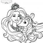 Barbie Princess Coloring Page Barbie Princess Coloring Page