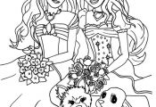 Barbie Printable Coloring Pages Barbie Printable Coloring Pages