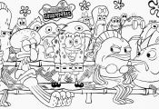 Black and White Spongebob Coloring Pages Black and White Spongebob Coloring Pages