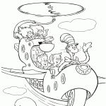 Cat In the Hat Coloring Pages Cat In the Hat Coloring Pages