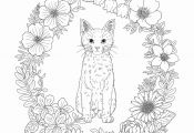 Cat Mandala Coloring Pages Cat Mandala Coloring Pages