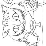 Cheshire Cat Coloring Pages Cheshire Cat Coloring Pages