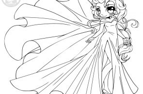 Chibi Disney Princess Coloring Pages Chibi Disney Princess Coloring Pages