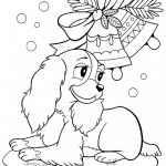 Christmas Coloring Pages Of Puppies Christmas Coloring Pages Of Puppies