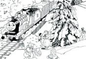 christmas train coloring pages free printable train coloring pages the page free...