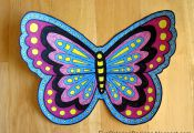 Colorful butterfly Logo Colorful butterfly Logo
