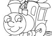 coloring book pages to print | Train color page transportation coloring pages, c...