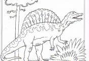 coloring page Dinosaurs 2 - Spinosaurus