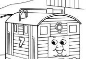 coloring page Thomas the Train - Thomas the Train
