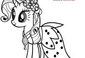 Coloring Page My Little Pony Coloring Page My Little Pony