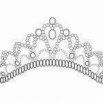 Coloring Page Of A Princess Crown Coloring Page Of A Princess Crown