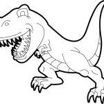 Coloring Page Of A T Rex Coloring Page Of A T Rex