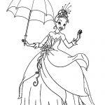 Coloring Page Of Princess Tiana Coloring Page Of Princess Tiana