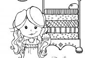 Coloring Page Princess and the Pea Coloring Page Princess and the Pea