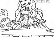 Coloring Pages Barbie Princess Charm School Coloring Pages Barbie Princess Charm School