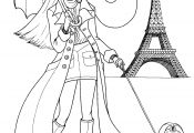 Coloring Pages Fashion Girls Coloring Pages Fashion Girls