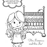 Coloring Pages for Princess and the Pea Coloring Pages for Princess and the Pea