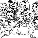 Coloring Pages Of Baby Disney Princess Coloring Pages Of Baby Disney Princess