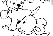 Coloring Pages Of Cute Dogs and Puppies Coloring Pages Of Cute Dogs and Puppies