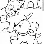 Coloring Pages Of Cute Puppies and Kittens Coloring Pages Of Cute Puppies and Kittens