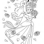 Coloring Pages Of Disney Princesses Coloring Pages Of Disney Princesses