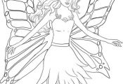 Coloring Pages Of Fairy Princesses Coloring Pages Of Fairy Princesses