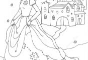 Coloring Pages Of Princess Castles Coloring Pages Of Princess Castles