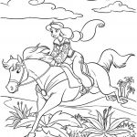 Coloring Pages Princess Horse Coloring Pages Princess Horse