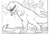 coloring pictures of dinosaurs for kids | Free Printable Dinosaur Coloring Pages...