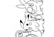 Coloring Pokemon Black and White Coloring Pokemon Black and White
