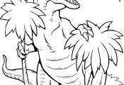 Coloring T Rex Coloring T Rex