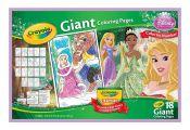 Crayola Princess Giant Coloring Pages Crayola Princess Giant Coloring Pages