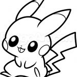 Cute Baby Pikachu Coloring Pages Cute Baby Pikachu Coloring Pages