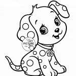 Cute Cartoon Puppy Coloring Pages Cute Cartoon Puppy Coloring Pages