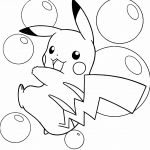 Cute Pikachu Coloring Pages Cute Pikachu Coloring Pages