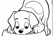 Cute Puppies Coloring Pages to Print Cute Puppies Coloring Pages to Print