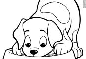 Cute Puppy Coloring Pages to Print Cute Puppy Coloring Pages to Print