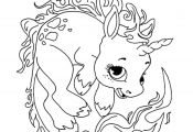 Cute Unicorn Coloring Sheets Cute Unicorn Coloring Sheets