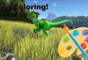 Dino Coloring Commands Ark Dino Coloring Commands Ark