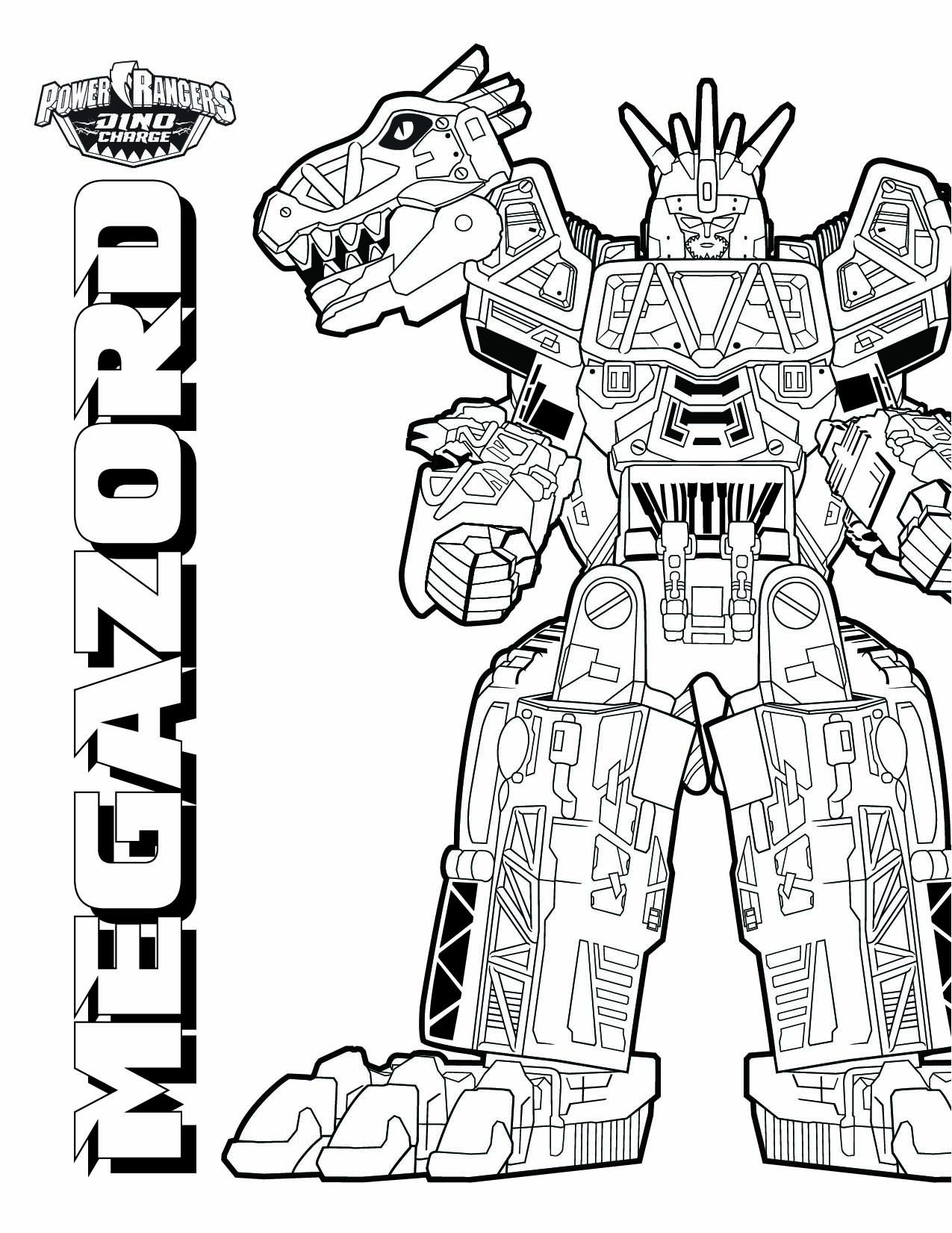 dino-zord-coloring-pages-of-dino-zord-coloring-pages Dino Zord Coloring Pages Dinosaurs