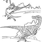 Dinosaur Coloring Pages Raptor Dinosaur Coloring Pages Raptor