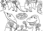 dinosaur train coloring pages                                                   ...