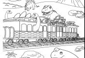 Dinosaurs Train Coloring Pages Dinosaurs Train Coloring Pages
