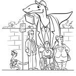 Dinosaurs with Jobs Coloring Book Dinosaurs with Jobs Coloring Book